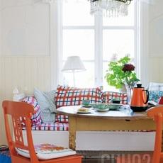 แต่งชุดโต๊ะอาหารใหม่จาก โต๊ะเก่าและเก้าอี้เก่า