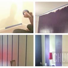 วิธีทาสีผนังห้องใหม่