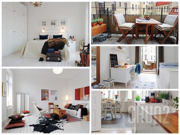 รูป 1 แบบตกแต่งห้อง คอนโด อพาร์ทเม้นท์ สวยๆ