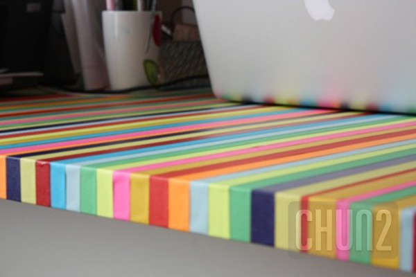 รูป 6 ตกแต่งโต๊ะทำงาน ให้มีสีสัน
