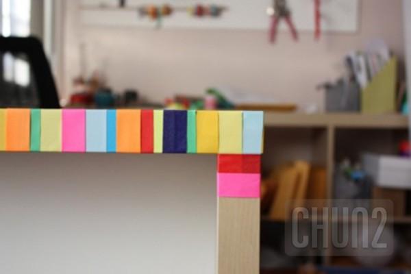 รูป 7 ตกแต่งโต๊ะทำงาน ให้มีสีสัน