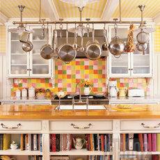 ห้องครัวสีสดใส เป็นระเบียบเรียบร้อย