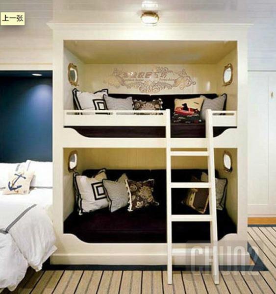 รูป 2 ไอเดียเตียงสองชั้น สำหรับห้องนอนเด็ก