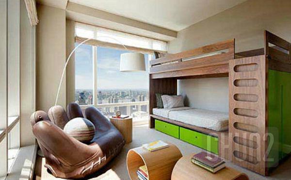 รูป 3 ไอเดียเตียงสองชั้น สำหรับห้องนอนเด็ก
