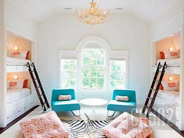 รูป 4 ไอเดียเตียงสองชั้น สำหรับห้องนอนเด็ก
