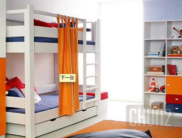 รูป 6 ไอเดียเตียงสองชั้น สำหรับห้องนอนเด็ก