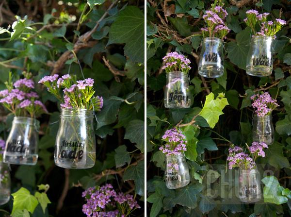 รูป 1 ทำกระถางดอกไม้ จากโหลแก้ว