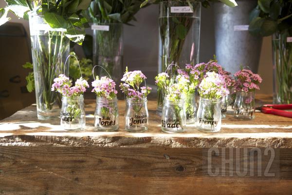 รูป 3 ทำกระถางดอกไม้ จากโหลแก้ว