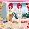 เกมส์แต่งตัวตุ๊กตา คู่แฝด น่ารักๆ 2 สาว