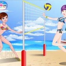 เกมส์แต่งตัวสาวนักกีฬา วอลเล่ย์บอลชายหาด
