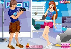 เกมส์แต่งตัวสวยๆ ให้แฟนหนุ่มถ่ายรูป