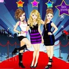 เกมส์แต่งตัวตุ๊กตา สาวสวย นักร้องสามสาว