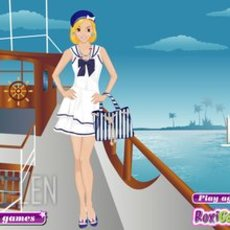 เกมส์แต่งตัวสาวเดินเรือ สวยๆ