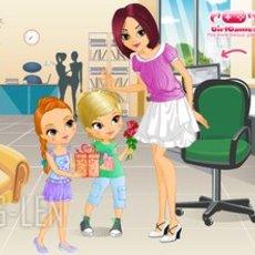เกมส์แต่งตัวตุ๊กตา ลูกชาย-ลูกสาว ให้ของขวัญคุณแม่