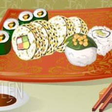 เกมส์จัดจานอาหารญี่ปุ่น