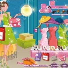 เกมส์แต่งตัวตุ๊กตาชุดช้อปปิ้ง ห้างสรรพสินค้า