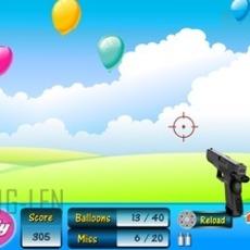 เกมส์ยิงปืน ลูกโป่ง