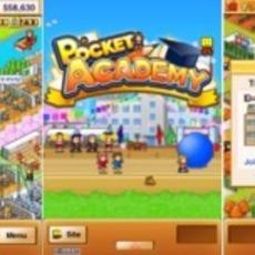 เกมส์บริหารงานโรงเรียน Pocket Academy