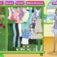 เกมส์แต่งตัวตุ๊กตา สาวสวย ชุดเดินเที่ยว