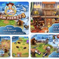 เกมส์ไอแพด Farm Frenzy 3 HD