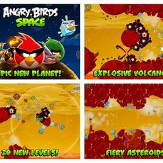 ดาวน์โหลดเกมส์ใหม่ Angry Birds Space HD
