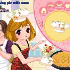 เกมส์แต่งตัวตุ๊กตา ชุดทำขนมเค้ก