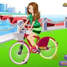 เกมส์แต่งตัวตุ๊กตา ชุดขี่จักรยาน