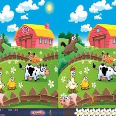 เกมส์จับผิดภาพ ในฟาร์ม