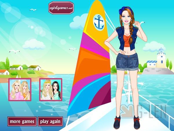 เกมส์แต่งตัว สาวบนเรือ