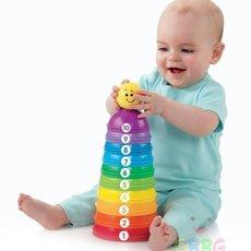 ของเล่นพัฒนาการเด็ก 6 เดือนขึ้นไป (ห่วงหลากสี)