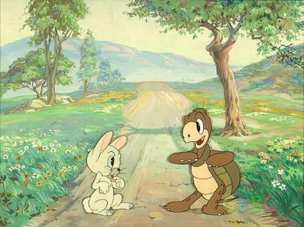 นิทานเรื่อง กระต่ายกับเต่า