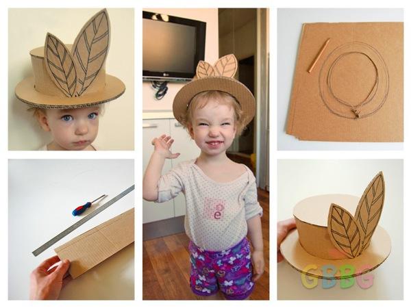 ทำหมวกให้ลูกเล่น