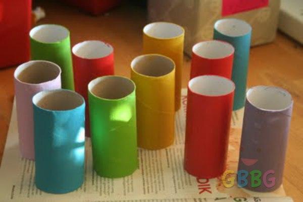 รูป 3 ทำรถของเล่น จากแกนกระดาษทิชชู