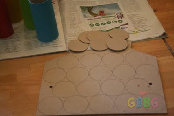 รูป 4 ทำรถของเล่น จากแกนกระดาษทิชชู