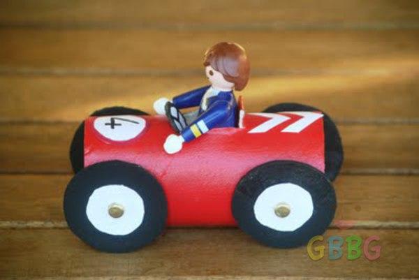 รูป 6 ทำรถของเล่น จากแกนกระดาษทิชชู