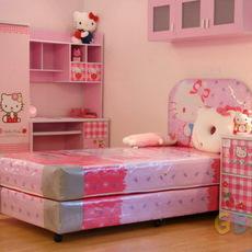 ชุดห้องนอนน่ารักๆ ชุดคิตตี้ สำหรับเด็ก