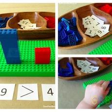 เกมส์คณิตคิดเร็ว เรียนเลขจากเลโก้