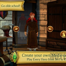 เกมไอแพด The Sims Medieval For iPad