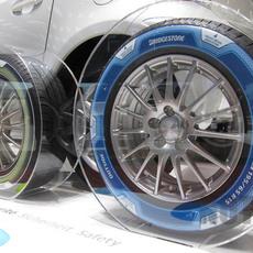 ยางรถยนต์ พิมพ์ลายสวยๆ จาก Bridgestone