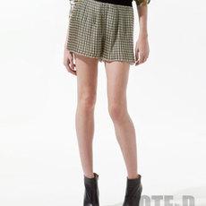 กางเกงกระโปรง จีบเล็กรอบตัว จาก Zara