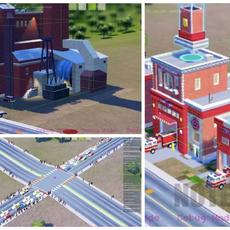 SimCity 2013 โชว์ Game Engine
