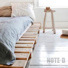 แต่งห้องนอนด้วยไม้ แบบประหยัด