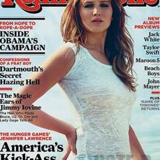 Jennifer Lawrence เสื้อแขนกุดซีทรู