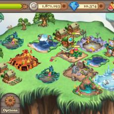 เกมฟรีไอแพดไอโฟน เลี้ยงสัตว์ Tiny Monsters