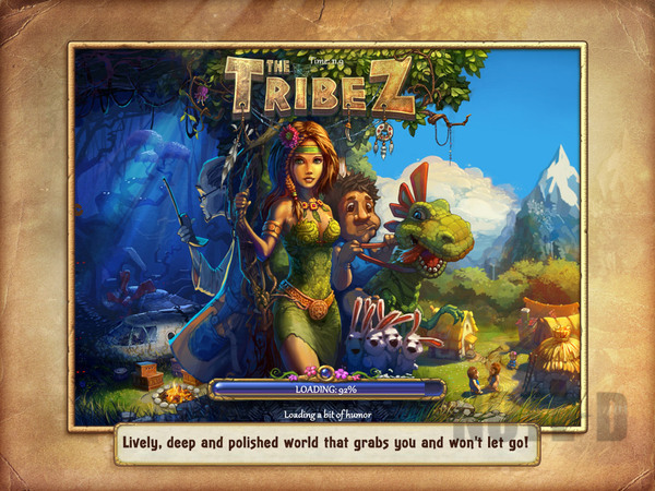 รูป 2 เกมสร้างเมือง The Tribez HD โหลดฟรีลงไอแพด