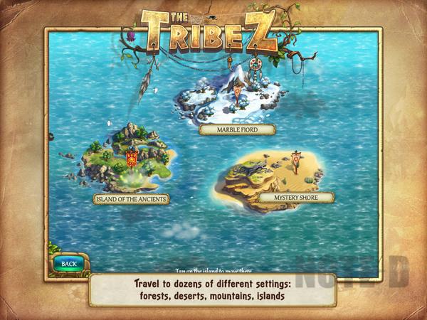 รูป 4 เกมสร้างเมือง The Tribez HD โหลดฟรีลงไอแพด