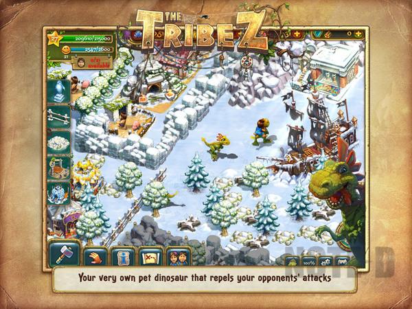 รูป 6 เกมสร้างเมือง The Tribez HD โหลดฟรีลงไอแพด