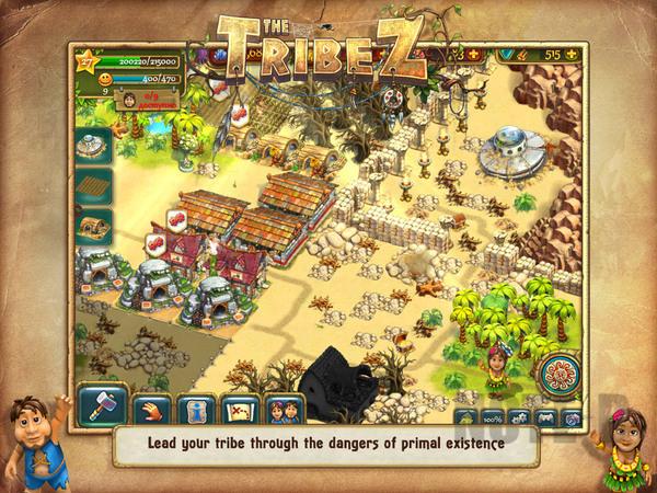 รูป 7 เกมสร้างเมือง The Tribez HD โหลดฟรีลงไอแพด