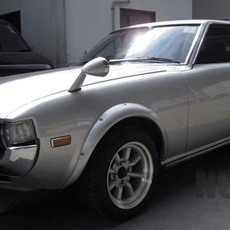 รถหายาก โตโยต้า Celica 1977 สีเงิน