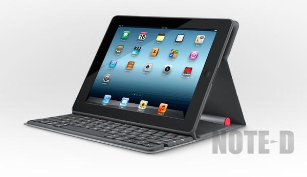 ใช้ดีมั้ย เคสไอแพดติดคีย์บอร์ดพลังแสง Logitech Solar Keyboard Folio